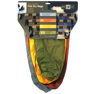 Exped Folding Drybags - 4 Pack