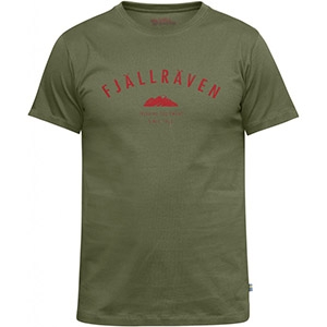 Fjallraven Trekking Equipment T-Shirt (Olive)