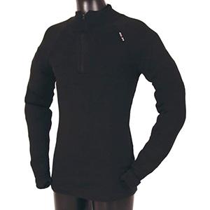 USSEN Baltic Norj Zipped Polo (Black)