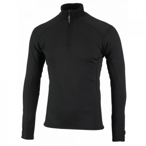 Sub Zero Factor 2 Zip Turtleneck (Black) - Camouflage Store